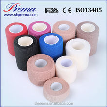 FDA Approved Elastic Tube Self adhesive Cohesive Bandage