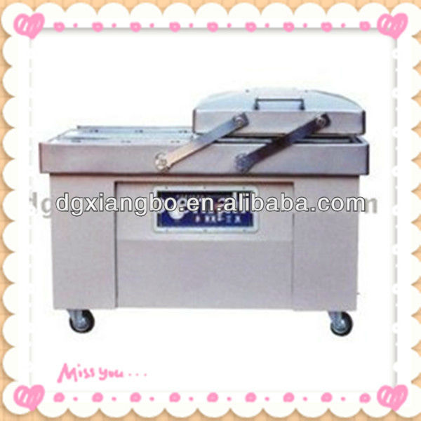 Double Chamber Food/medical/electronic Component Automatic Vacuum Packaging Machine-DZ600-2SB