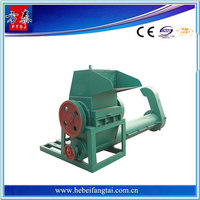 Superior service hard plastic shredder crushing