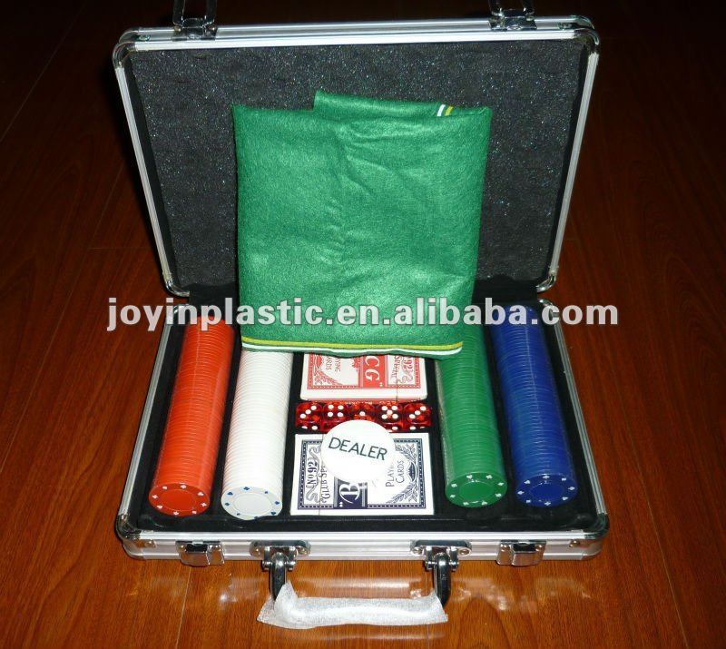 poker set poker chip/poker chip aluminum case