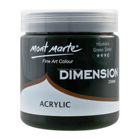 Mont Marte Dimension Acrylic Paint 250mls - Hookers Green Deep