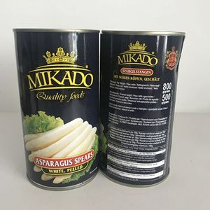 Chinese Mikado canned fresh asparagus spears for sale