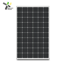 2018 Newest mono 250w pv module all black photovoltaic solar panel