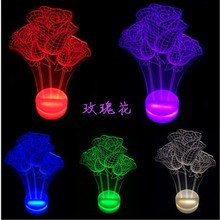illumination USB LED Rose Flower Lights for read study Christmas Valentine's Day gift