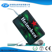 Card Style and 128MB Memory Size Mini Thin Card MP3 Player