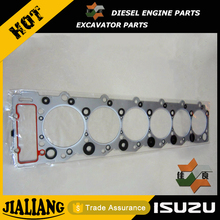 Hitachi Excavator Engine Spare Parts Isuzu 6HK1 Genuine Cylinder Head Gasket
