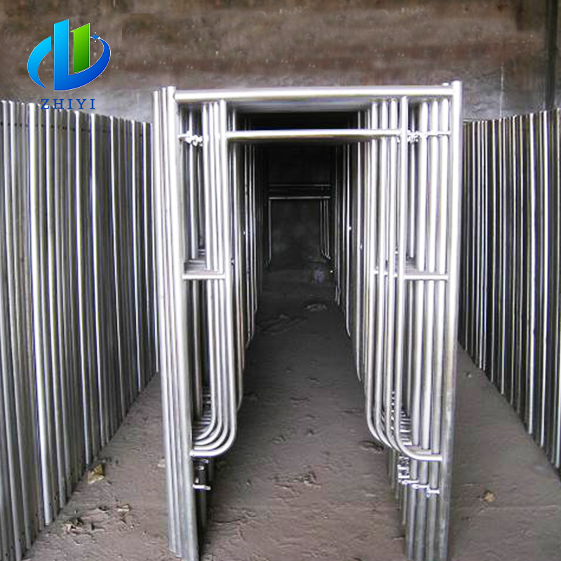 Building Construction High-end used types of pin lock scaffolding