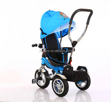 2017 new type folding and rotating children tricycle