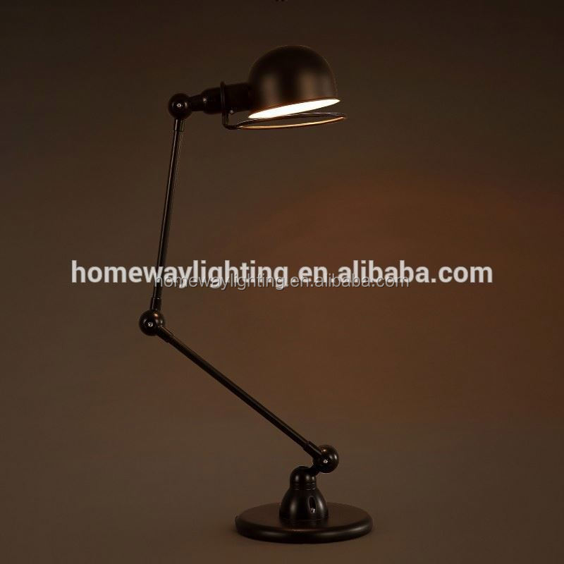 high brightness ultra thin battery led table lamp green SAA approval industrial desk lamp