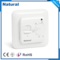 built-in setback mode NTL6000A/6000B electric Thermostat FOR FLOOR HEATING