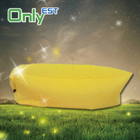 Outdoor inflatable air sleeping bags chaise lounge sofa bed on sale