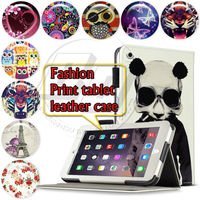 Print Floral Butterfly Love Leather Skin Cover For iPad mini3 tablet case book folio cover