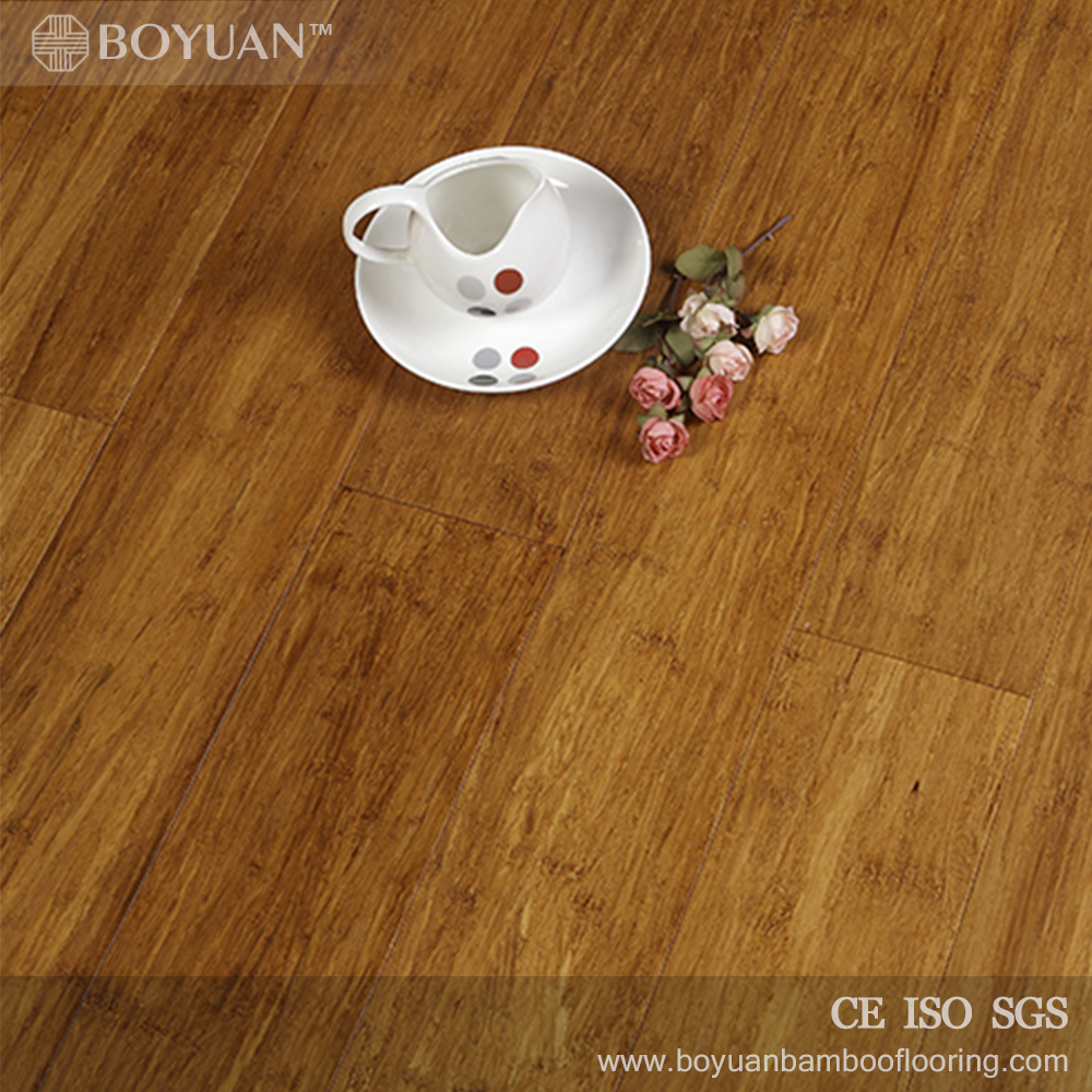 2016 yixing factory click carbonzied bamboo flooring for bedroom