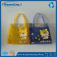 Zipper slider plastic clothing packaging bag for baby