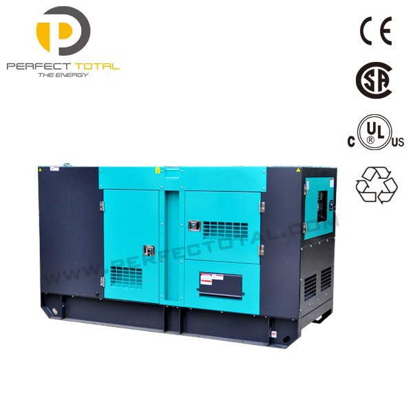 48KW soundproof diesel generator with PERKINS engine