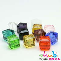 Cube Crystal Glass Beads Square Cube Japanese Glass Seed Beads