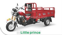 2016 China top ten brand DAYANG Little Prince cargo adult three wheel motorcycle for cargo use on sale