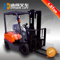 Low price diesel forklift 1.5t trucks for sale with ISUZU C240