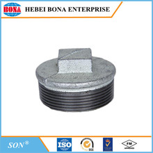 Thread Galvanized Cast Iron Pipe End Cap