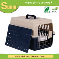 Wholesale dbig size dog transport box plastic dog house