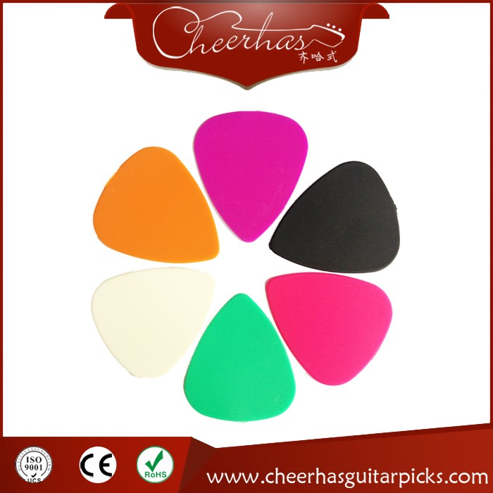 Hot Sell Standard Shape Delrin Guitar Picks