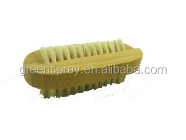 Two Sided Bamboo Nail Brush