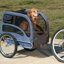High Quality Folding Extra Large Pet Trailer Bike with Anti-slip floor