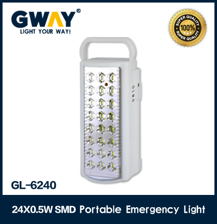 24pcs led emergency portable 110V or 220V light led