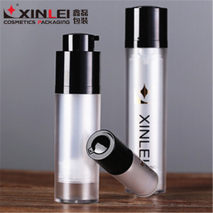 XL305 Rotatable plastic airless pump bottle for cosmetic