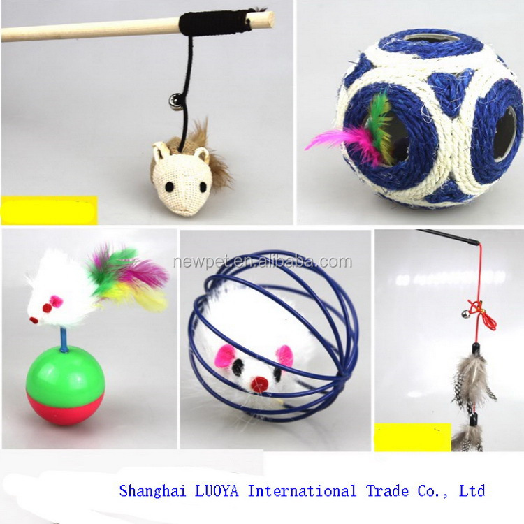 China wholesale newly design cat scratching tree mouse factory cat toys