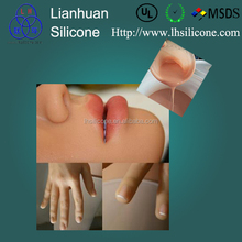 life casting liquid silicone rubber for human body part making like hands foot and artificial arm