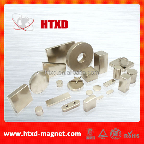 High Performance Sintered Neodymium Magnet pole magnet
