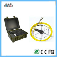 CCTV underwater pipe inspection camera with video keyboard