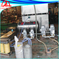 Brass rod production line cooling system