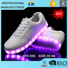 Waterproof Big Size Alibaba Led Adult Shoes With Lights