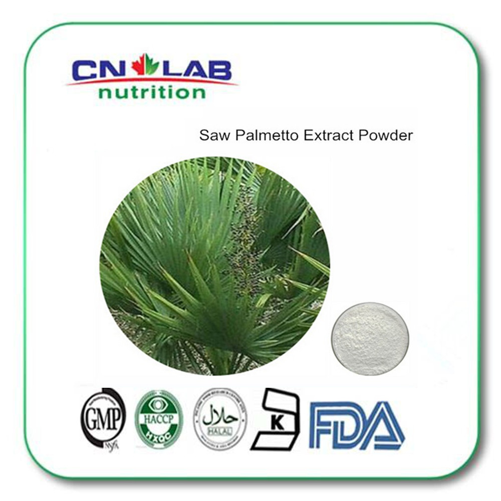 Factory price Saw palmetto extract saw palmetto capsules 25% 45% fatty acid