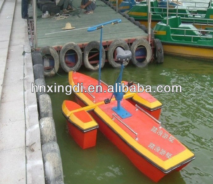 funny amusement park water bike water tricycle equipment
