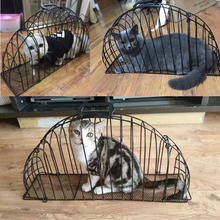 hot sale hight quality metal 2 door cat bath cage