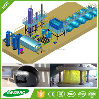 Waste Tire Recycling To Diesel Distillation Plant