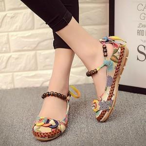 zm23115a hottest big size shoes women casual wholesale fancy ladies flat shoes
