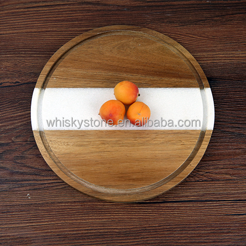 Wholesale Party Supply Fancy marble Plates Bulk Dinner Plates