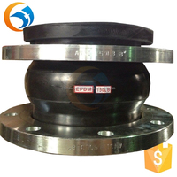 Manufacture DIN flange drilling rubber expansion joint