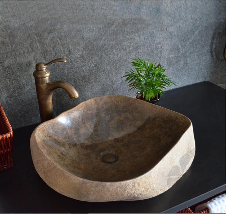 Hot Selling Marble Sink for Bathroom Decoration VSK--001