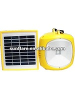 2012 hot sale high quality led camping solar lamp for rural area