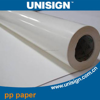 high quality waterproof PP Synthetic Paper rolls