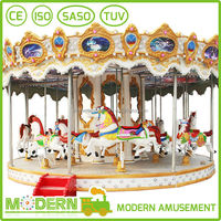 Top quality carousel ride for sale merry go round