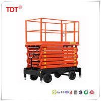 DC Full Electric Walkie Scissor Lift/table
