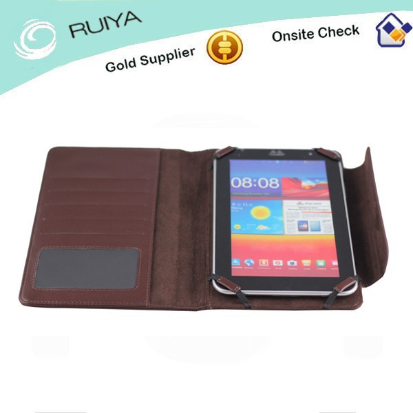 Premium Synthetic Leather Case for Mini Pad, Hot Selling Leather Mini Pad Case with Magnetic Snap Closure