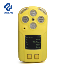 portable safety CO gas auto carbon monoxide alarm detector multi gas detector with micro clip
