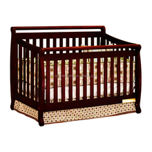 Factory price wooden baby bed designs portable baby cribs/baby wooden bed